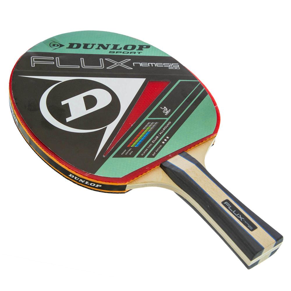 Ракетка для настольного тенниса dunlop flux nemesi 679204 фото №1