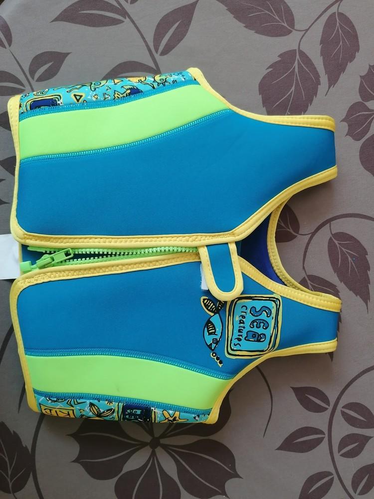Спасательный жилет, жилет для плавания zoggs на 2-3 года фото №1