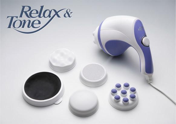 Массажер для похудения, для тела, рук и ног relax and tone фото №1