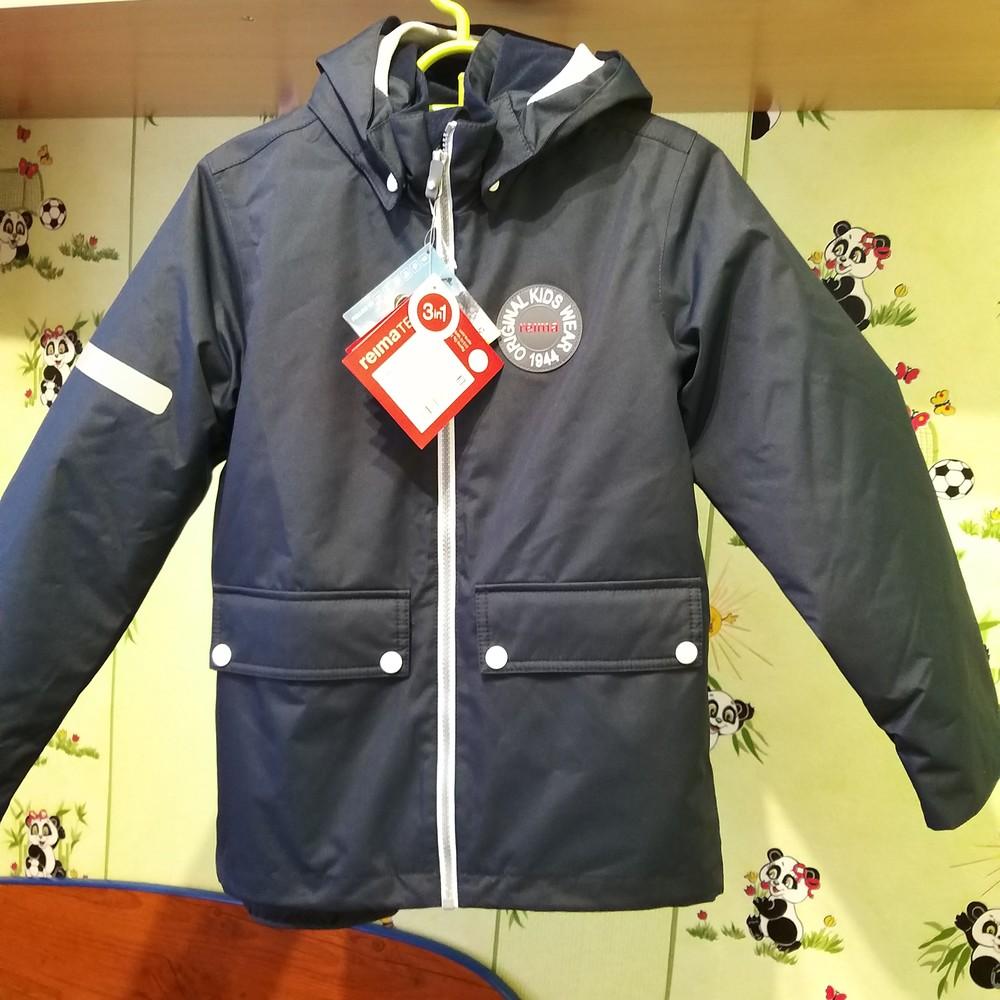 Курточка reima 134р (осень весна 0+15) фото №1
