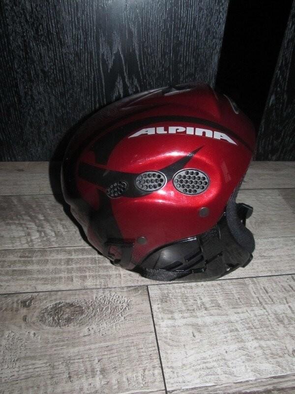 Горнолыжный шлем alpina р.54-57см фото №1