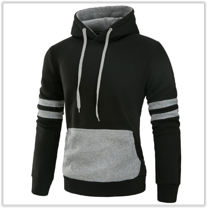 Толстовка , реглан, куртка с капюшоном m-xl код 61 чёрно-серая фото №1