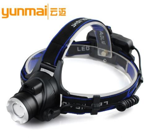 Аккумуляторный налобный фонарь yanmai dx-6889 c датчиком движения фото №1