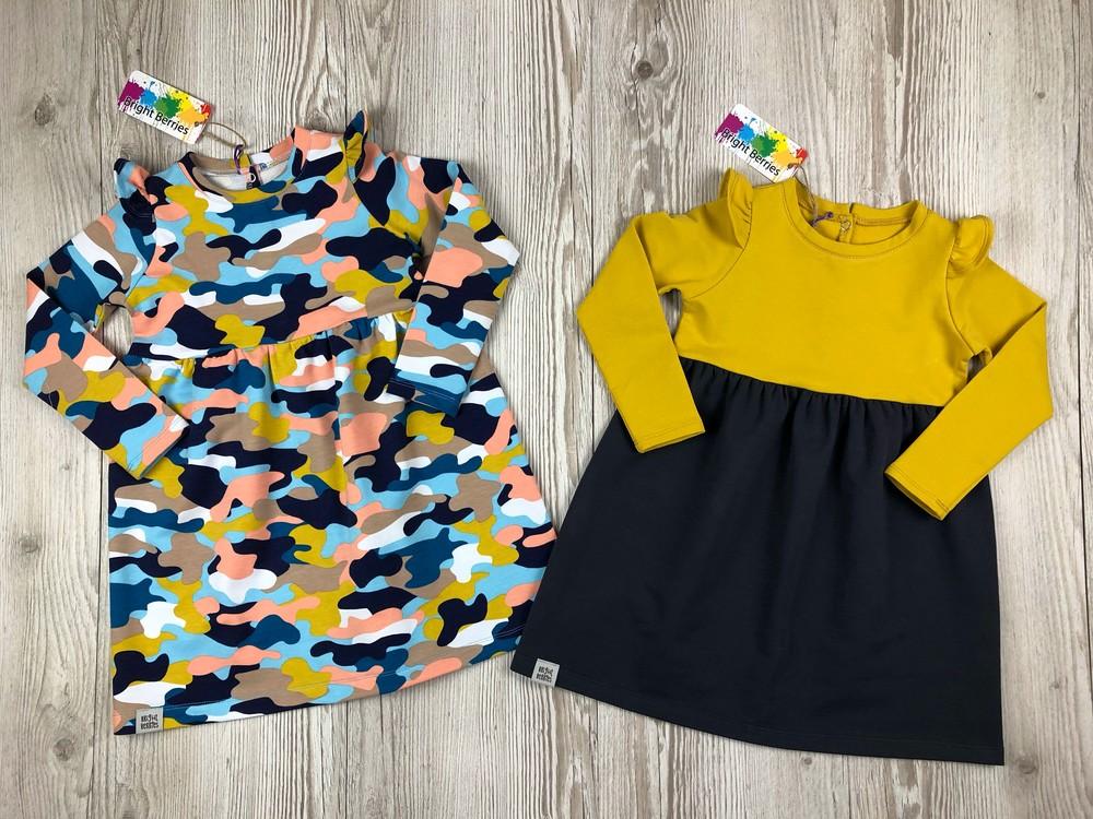 Стильные платья для маленьких принцесс от bright berries фото №1