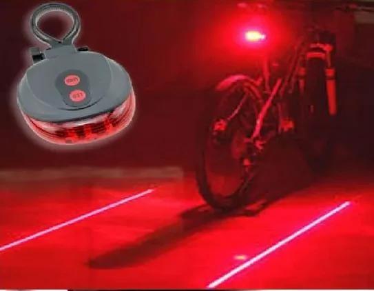 Велофонарь, габарит лазер, задний велофонарь с лазерами фото №1