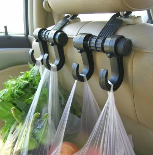 """Универсальный автомобильный крючок-вешалка на спинку сиденья до 6 кг tv895"""" фото №1"""