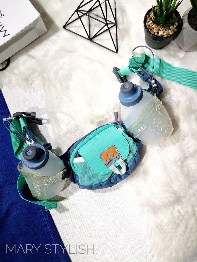 Бананка сумка спортивная с бутылками для воды фото №1