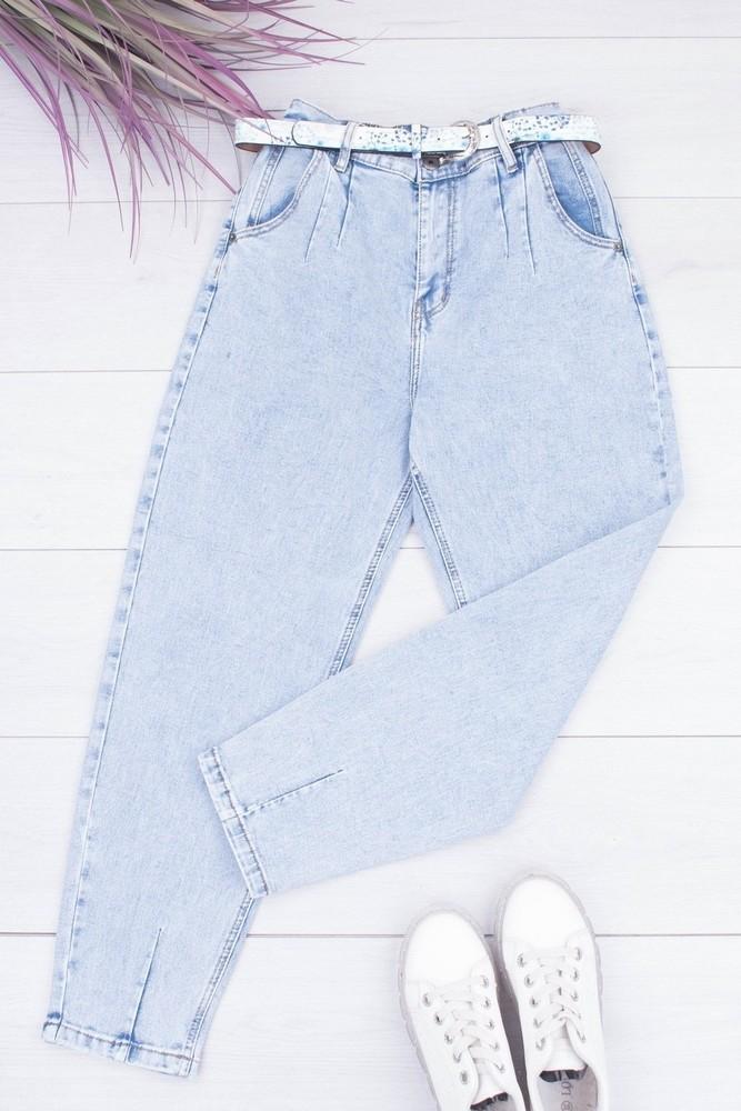 Женские джинсы балоны есть большие размеры фото №1