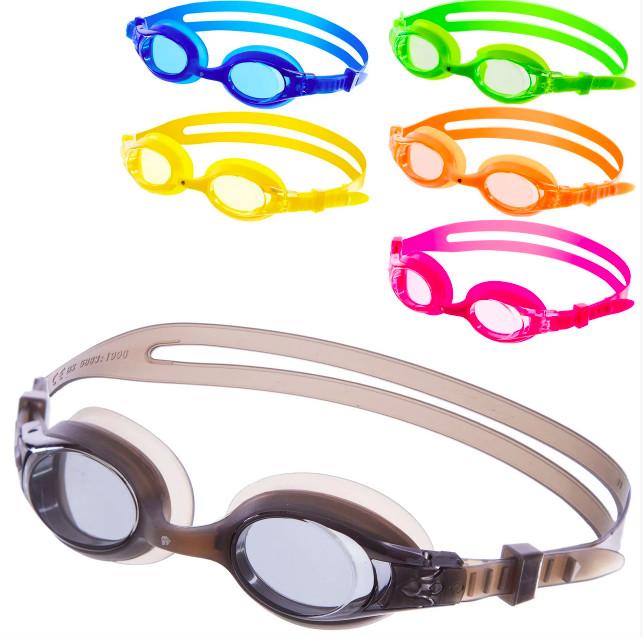 Очки для плавания детские madwave junior autosplash 041902: 6 цветов (поликарбонат, силикон) фото №1