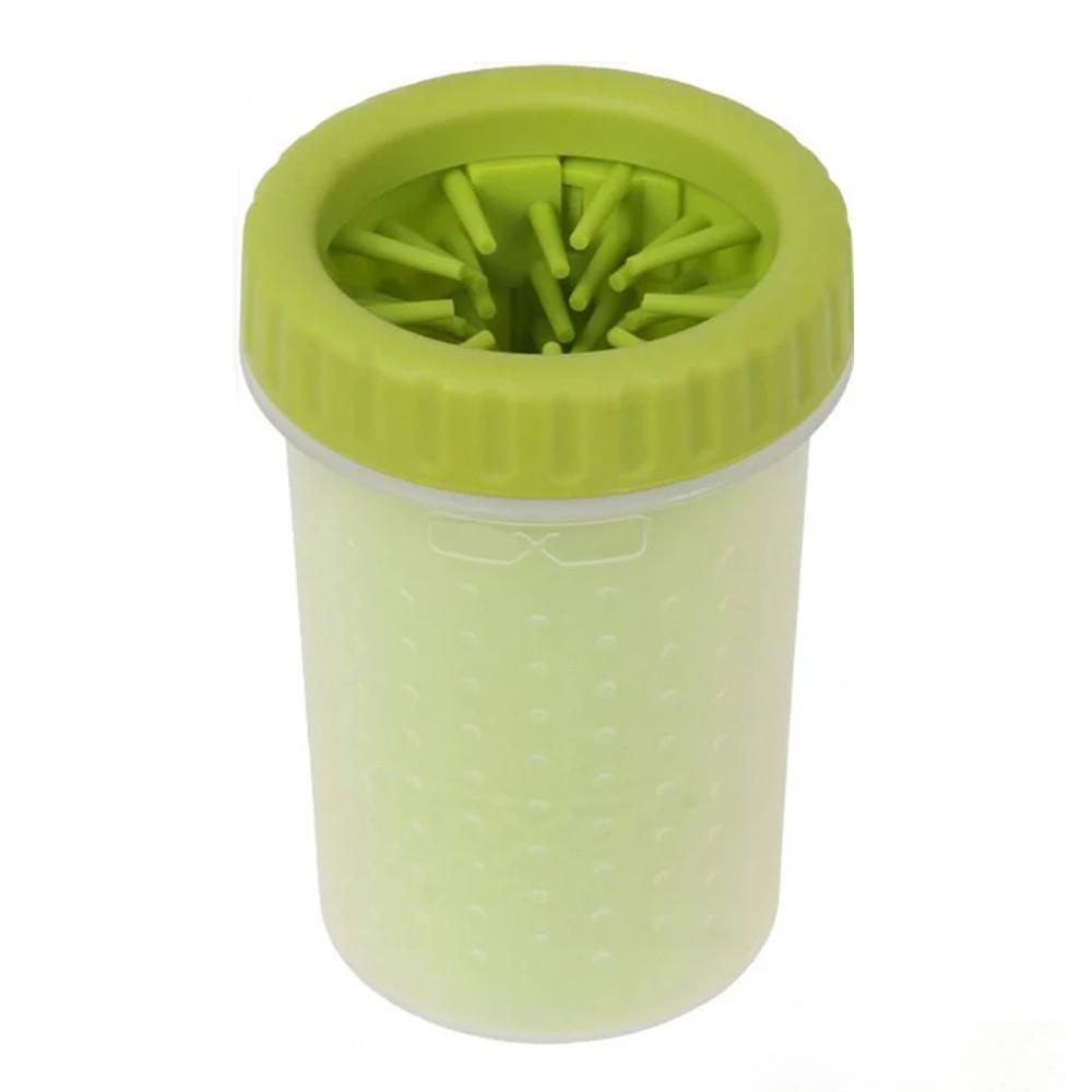 Лапомойка пластиковый стакан для мытья лап собаке коту 11.5 х 9.4 см., диаметр: 7.6 см. 23049 фото №1