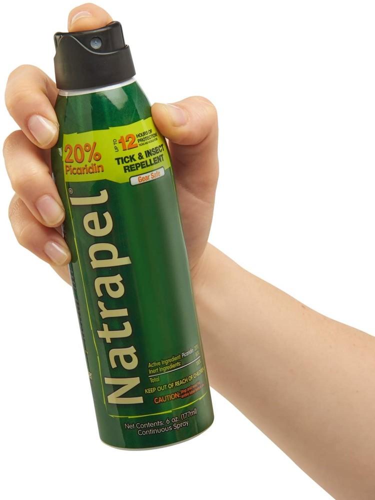 Репеллент natrapel пикаридин 20% спрей защита от комаров, клещей, насекомы фото №1