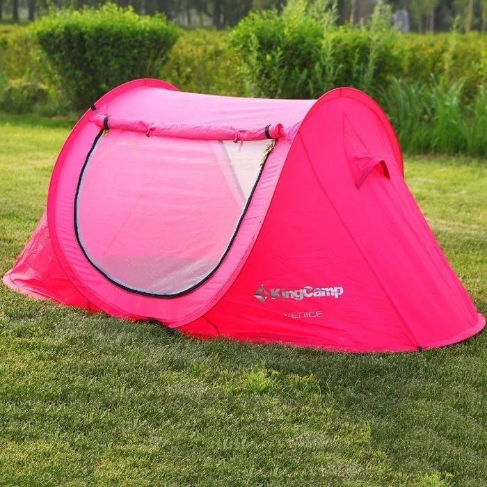 Палатка kingcamp venice (kt3071) (rose red) фото №1