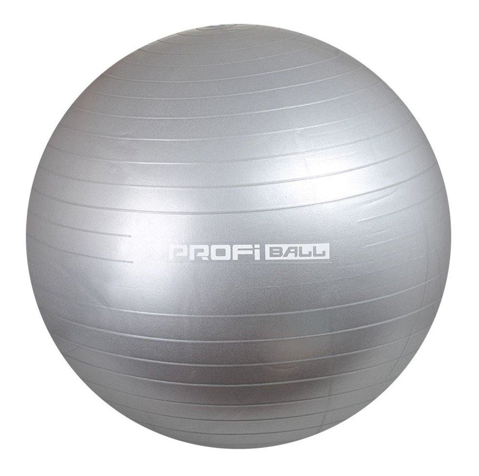 Мяч для фитнеса (фитбол) profit 65 см, gray фото №1