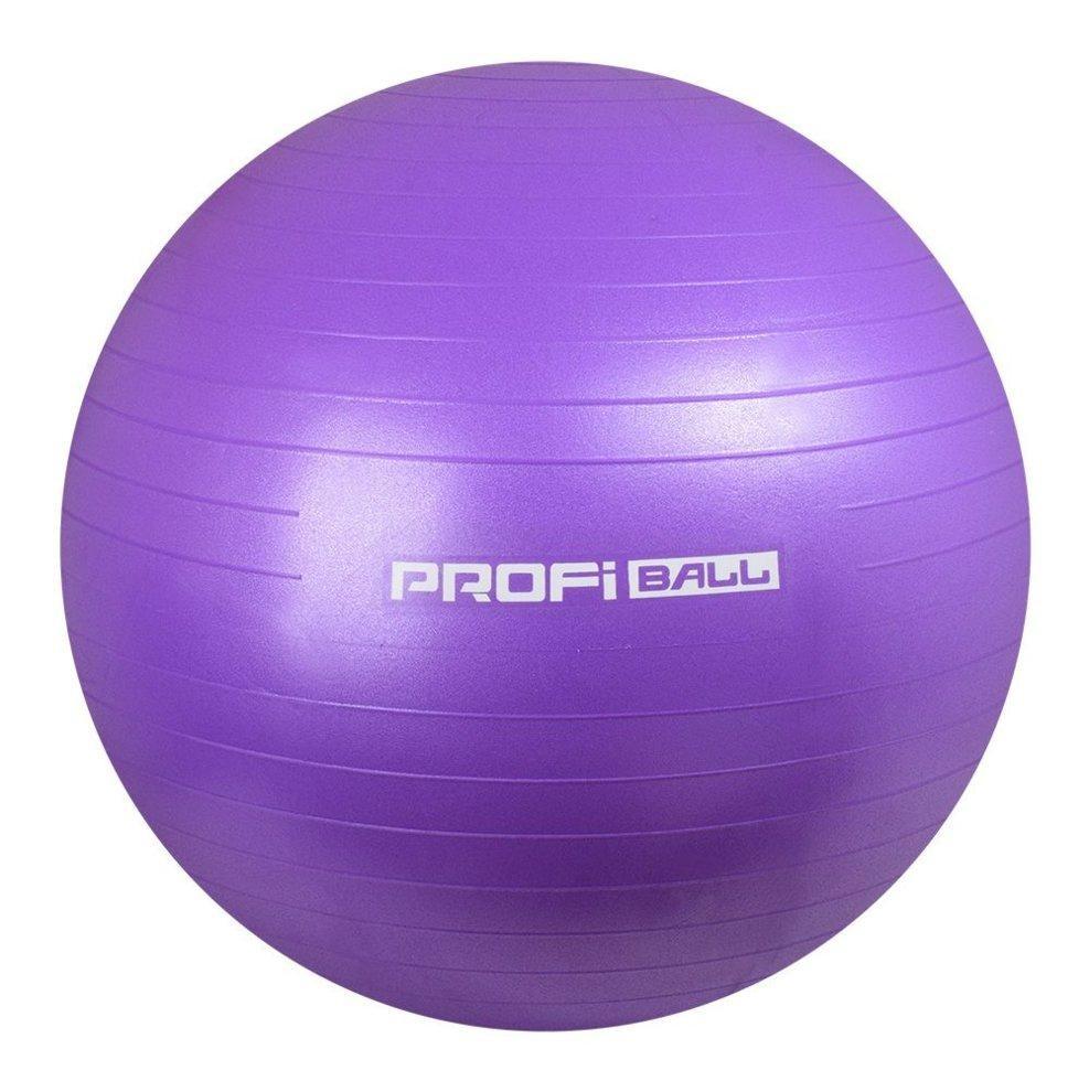 Мяч для фитнеса (фитбол) profit 65 см, purple фото №1