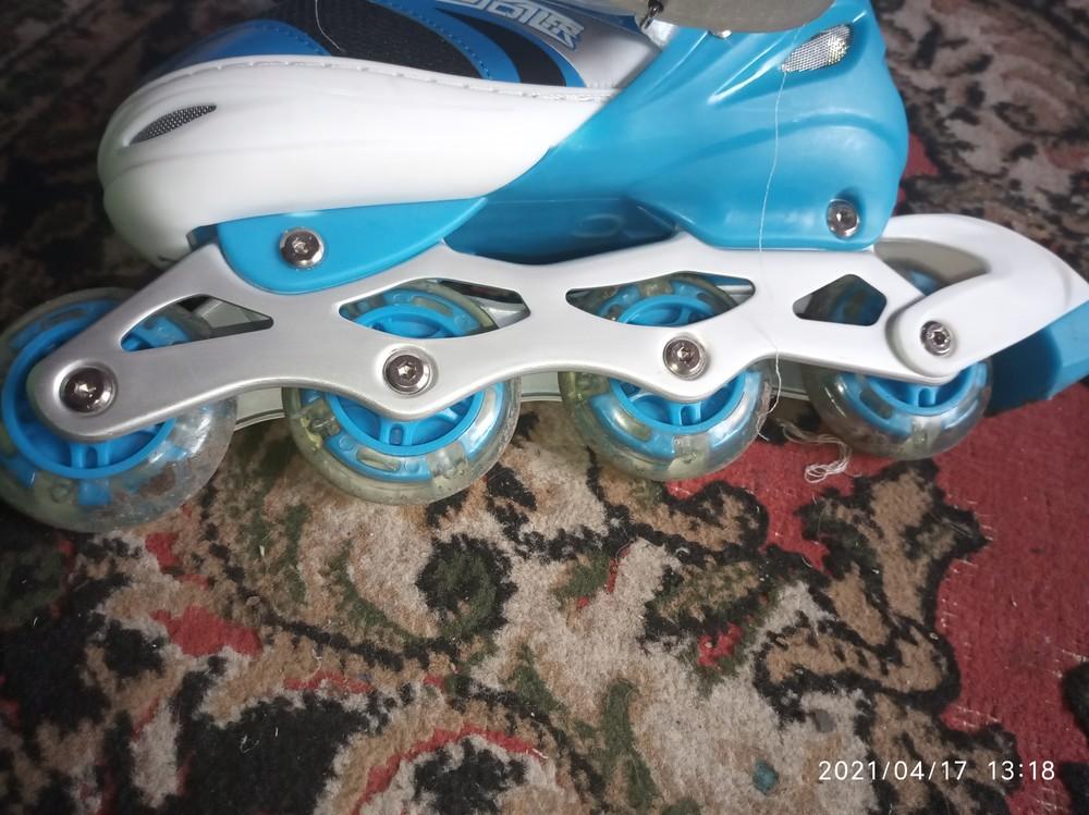 Ролики подростковые best rollers фото №1