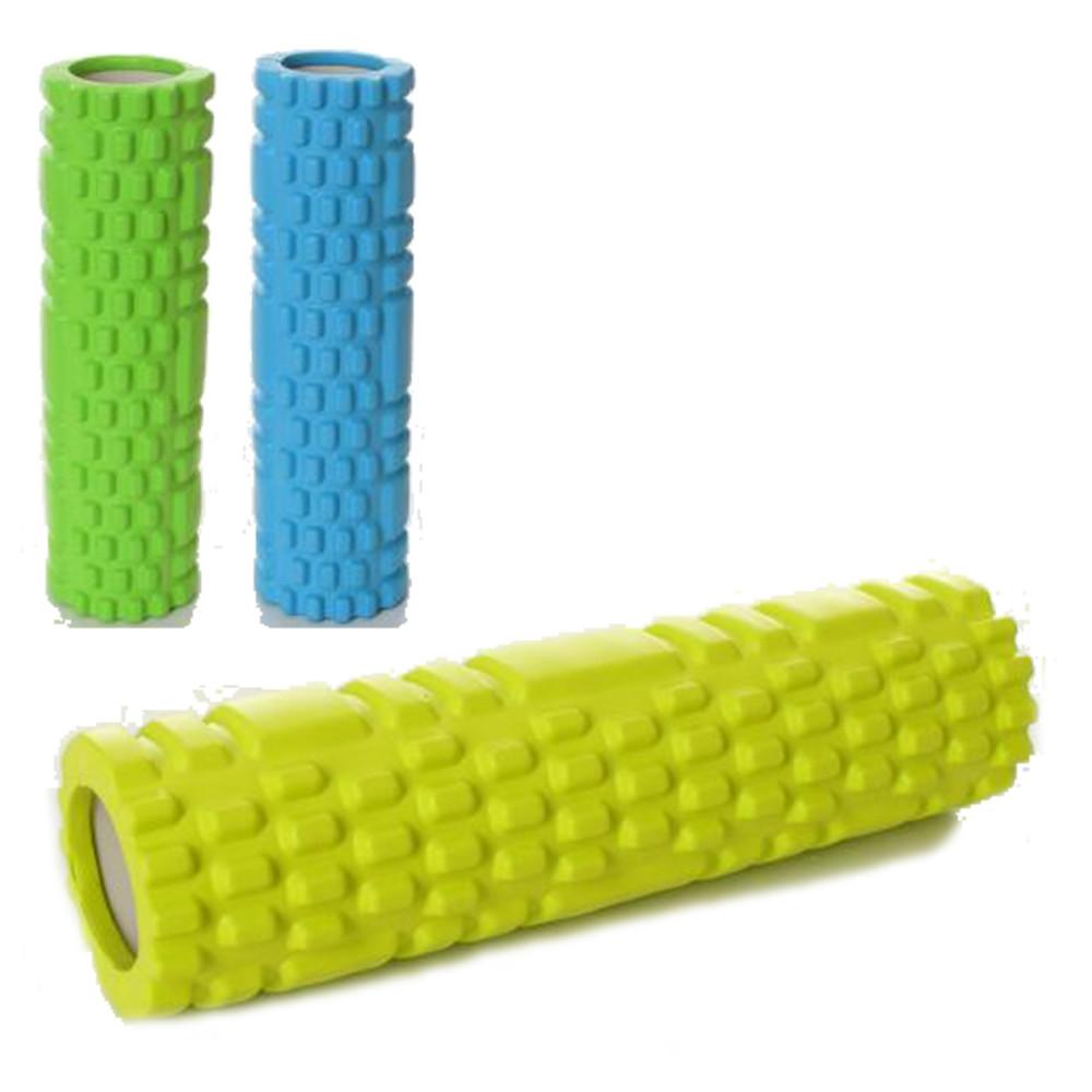 Ролик массажный для йоги eva 30 х 8.5 см массажёр рулон (валик) для йоги фото №1