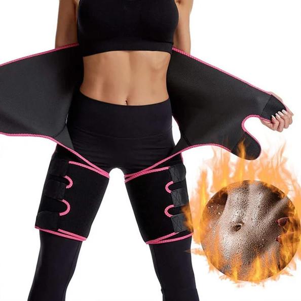 Пояс корректирующий утягивающий для похудения и коррекции фигуры adjustable one-piece waist band фото №1