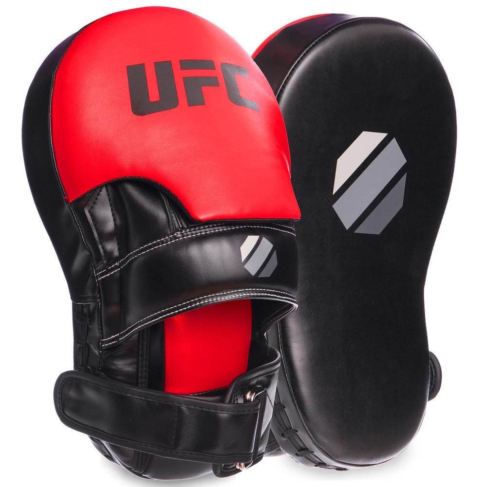 Лапа изогнутая удлиненная боксерская ufc 69753: 2 лапы в комплекте (35x21x15см) фото №1