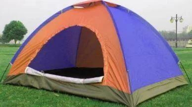 Палатка с автоматическим каркасом цветная 2x1,5 метра фото №1