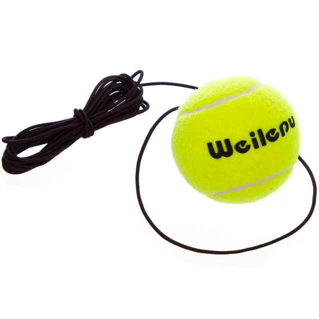 Теннисный мяч на резинке боксерский fight ball 858 (пневмотренажер файт бол) фото №1