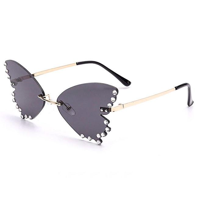 Солнцезащитные очки butterfly black a82827 фото №1