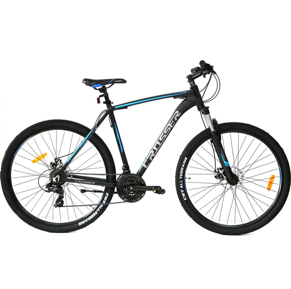 Кросер инспирон 29 crosser inspiron велосипед алюминий горный мтв найнер фото №1