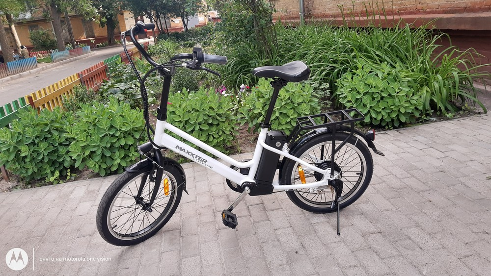 Электровелосипед maxxter city light white... фото №1