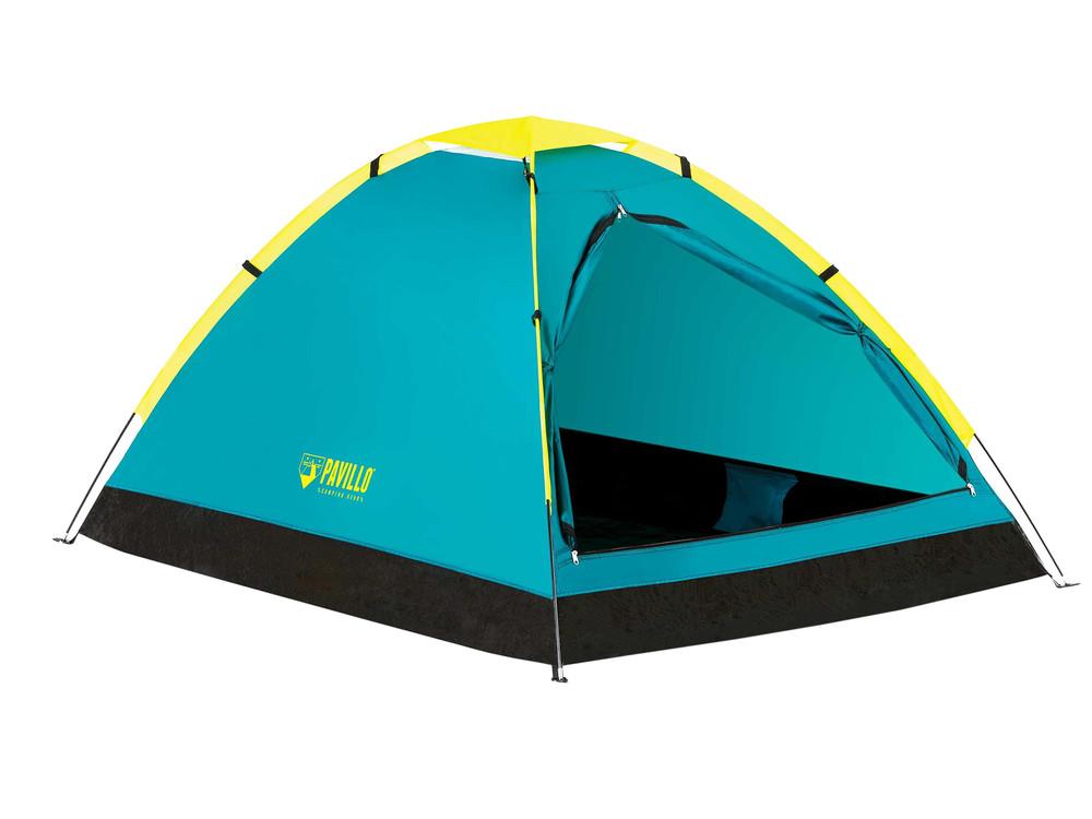Палатка туристическая двухместная bestway 68084 с навесом фото №1