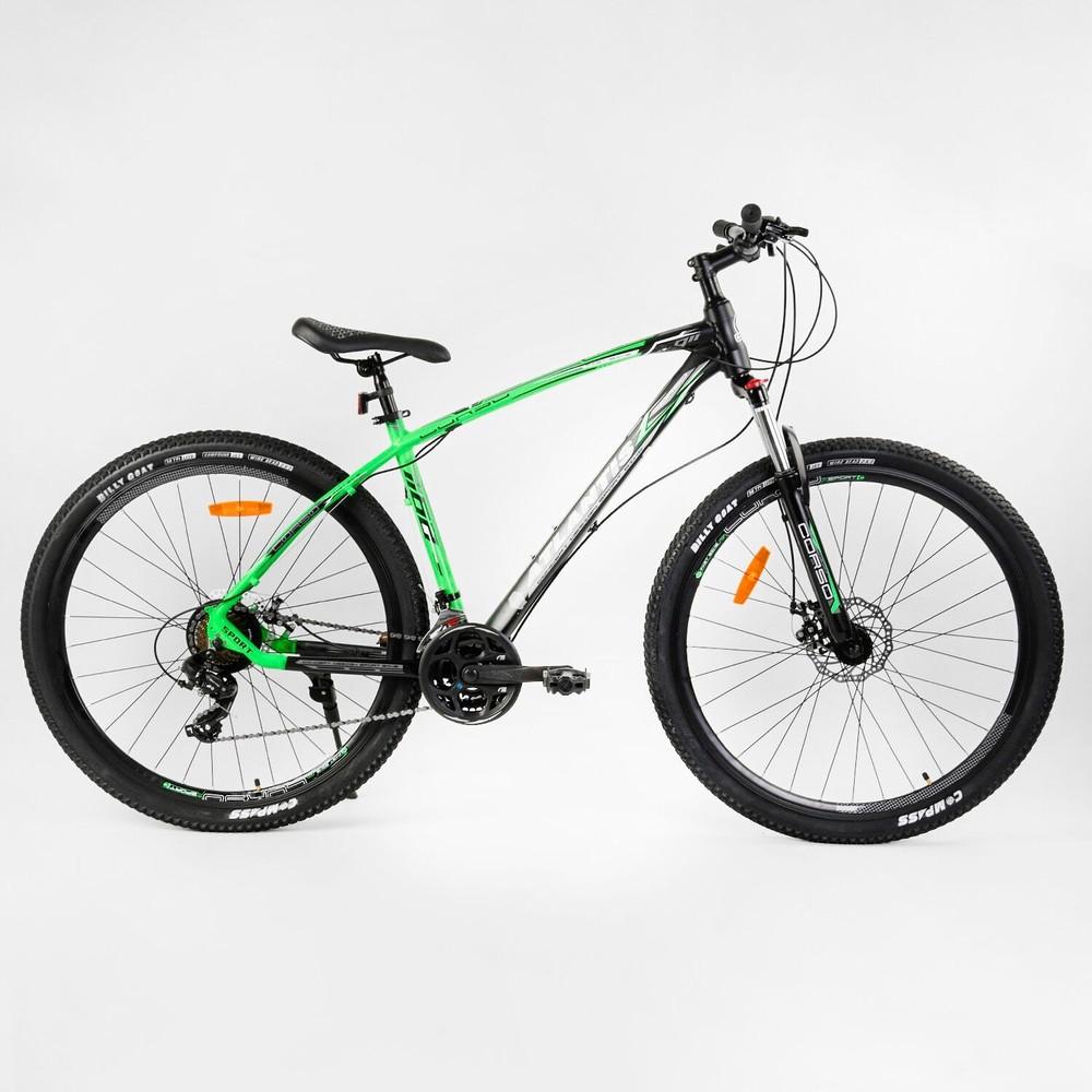 Спортивный велосипед corso atlantis 29 дюймов найнер алюминиевая рама фото №1