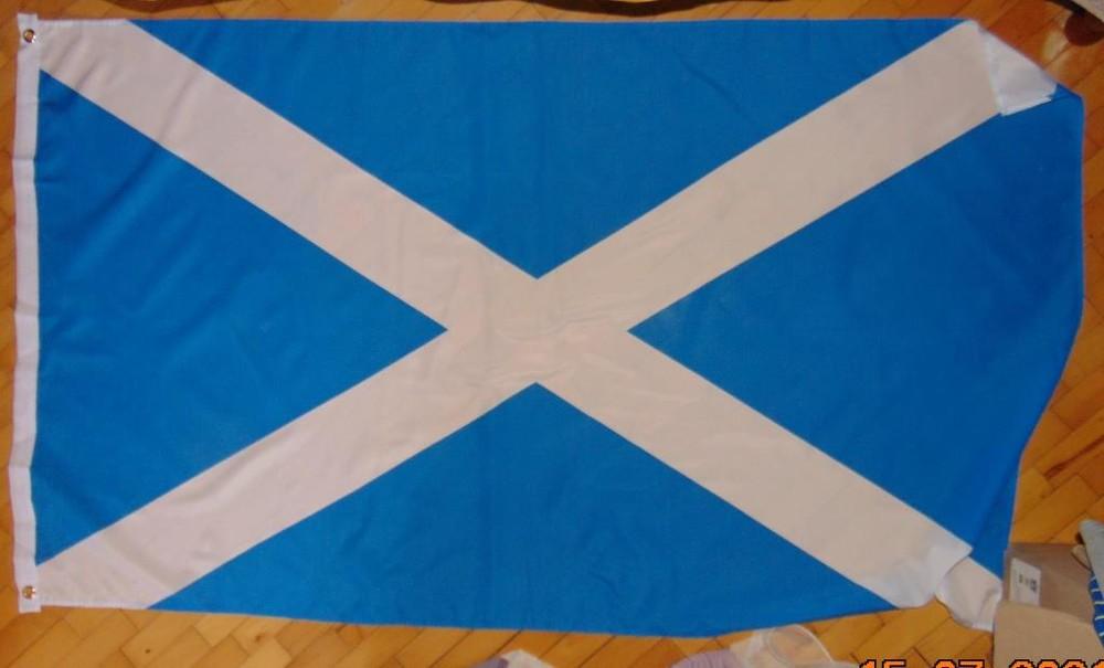 Фирменний спорт банер флаг зб шотландии . фото №1