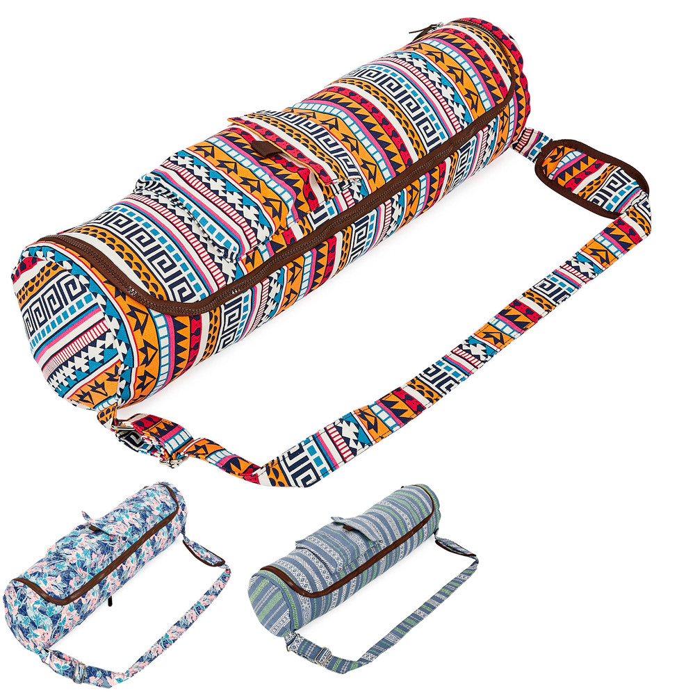 Сумка для йога коврика (чехол для фитнес коврика) doyouryoga 8362: размер 72х17см фото №1
