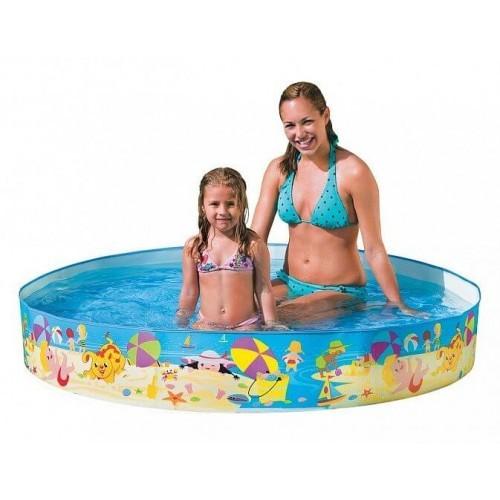 Бассейн каркасный детский intex 56451np размер 152 х 25 см фото №1