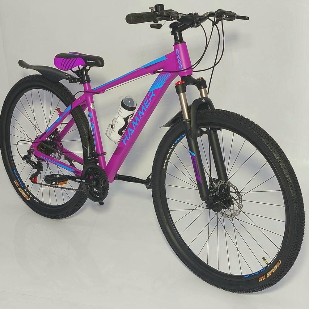 Велосипед спортивный 29 дюймов s300 hammer blast new найнер облегченный фото №1