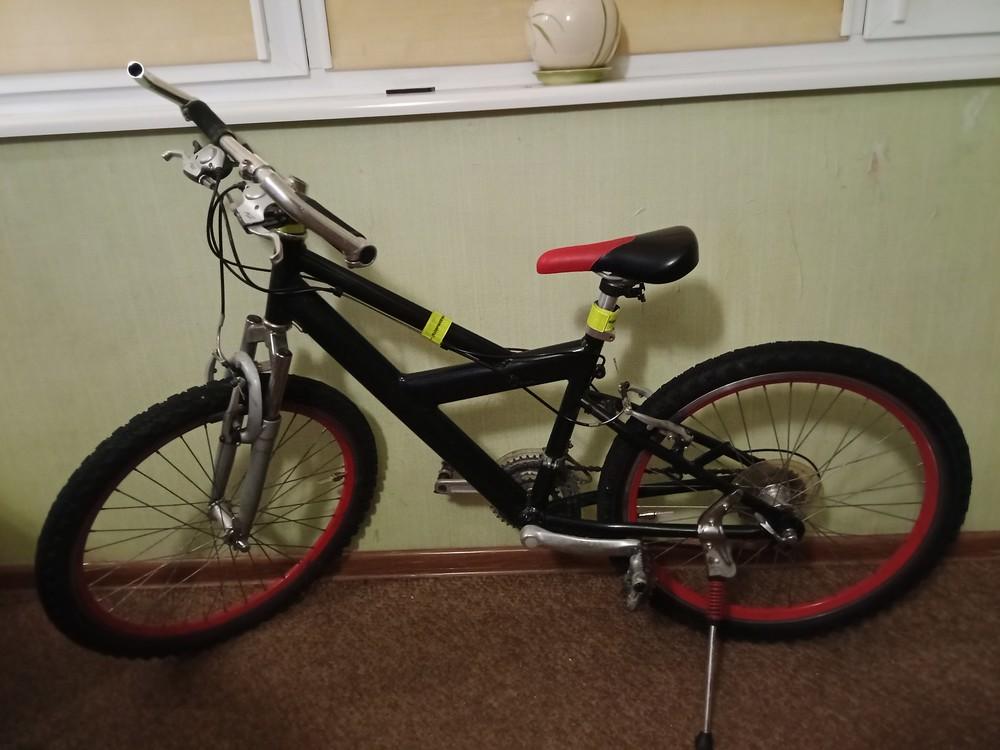 """Срочно! продам алюминиевый велосипед mercury. рама 14"""" колёса 24"""" фото №1"""