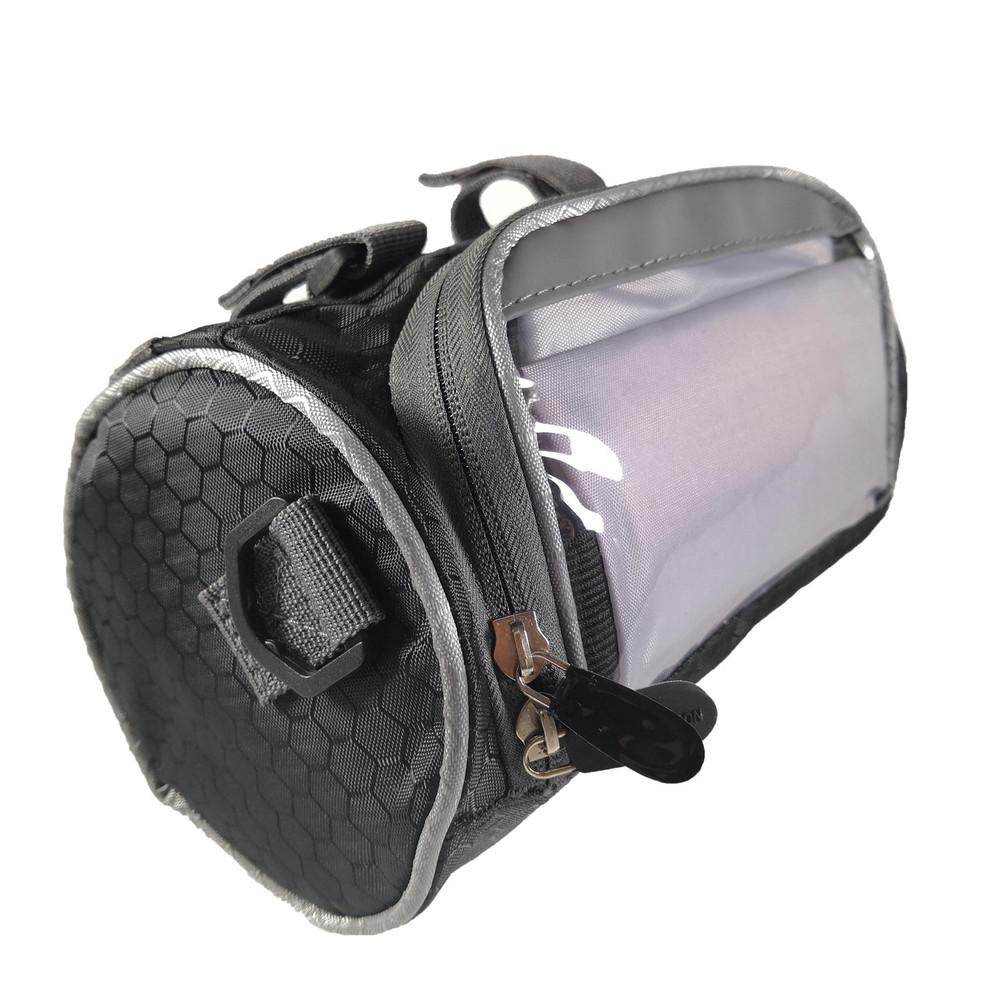 Велосумка сумка на руль велосипеда с отделением под смартфон фото №1