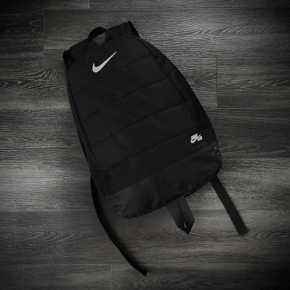 Рюкзак городской для ноутбука nike черный фото №1