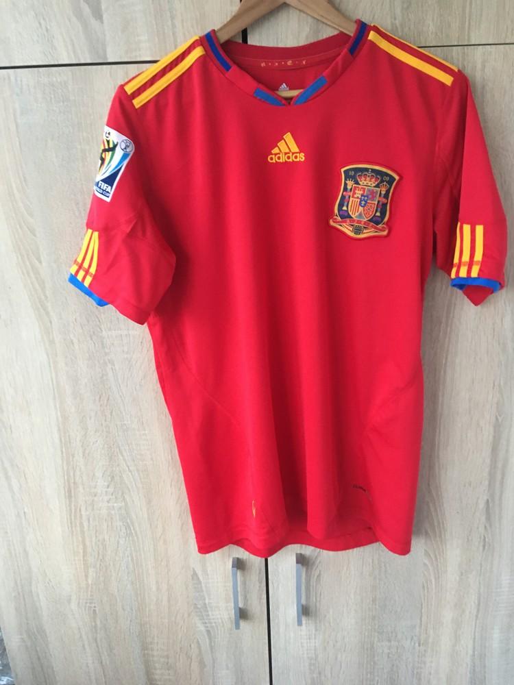 Футболка сборная испании 2010 фото №1