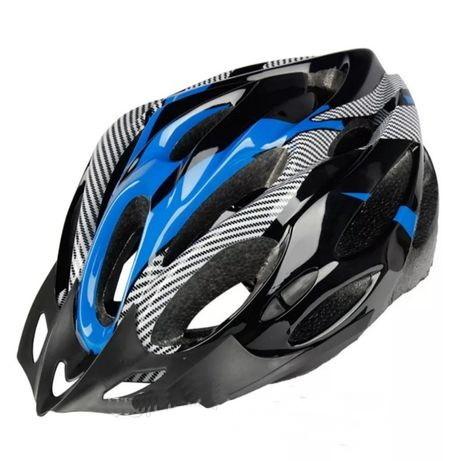 Шлем велосипедный с козырьком фото №1